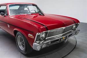 1970 Chevrolet Nova 23422 Miles Cranberry Red Sedan 350