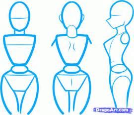 How to Draw Anime Body Steps