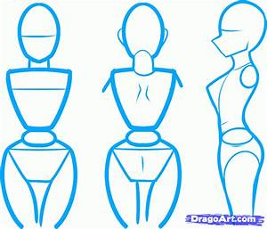 Draw an Anime Body, Step by Step, Drawing Sheets, Added by ...