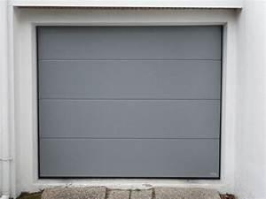 porte de garage sectionnelle noire obasinccom With porte de garage noir