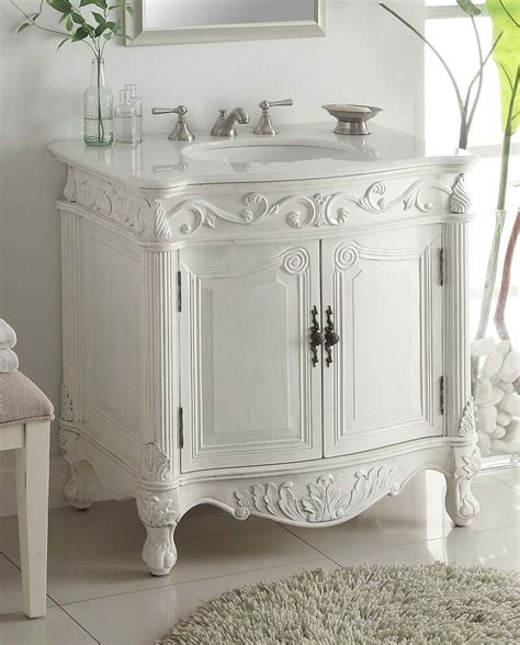 Bathroom Vanities Antique Style by 32 Traditional Style Antique White Bathroom Sink