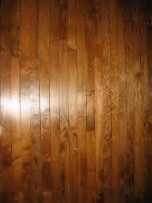 maple floor with a dark stain love it good discussion
