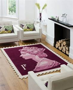 26 tapis originaux pour un interieur de design moderne et for Tapis design avec marque de canapé design