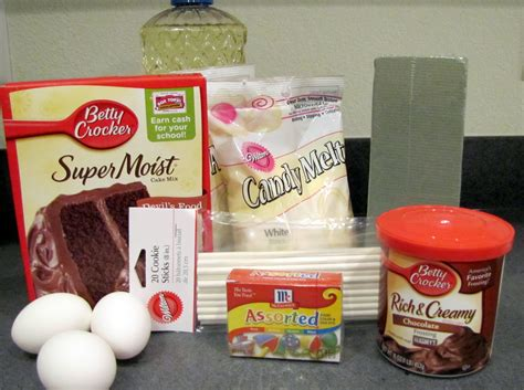 ingredients to make a cake the domestic dillard diva easy cake pops