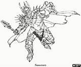Sauron Herr Legolas Frodo Kolorowanki Pierscieni Gimli Pierścieni Władca Ausmalbild Malvor Saruman Malowanki Wladca sketch template