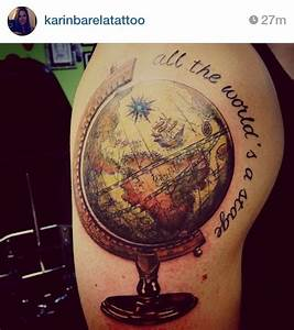 World Globe Tat... World Globe Quotes