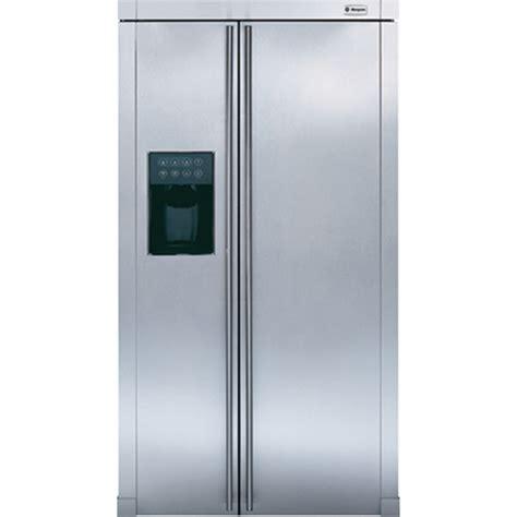 ge monogram zfsbdrss  side  side refrigerator  cu ft capacity  cu ft fresh