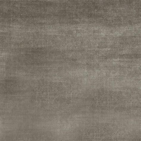 Grey Velvet Upholstery Fabric by Opulence Steel Solid Grey Velvet Upholstery Fabric