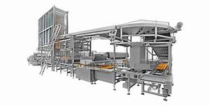 Cakes automatic production line