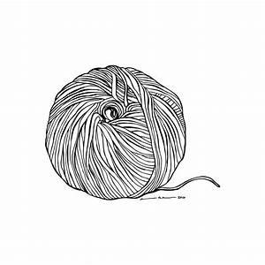 Yarn Ball by Karl Addison