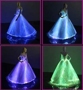 fiber optic clothing short front long back lace bridal With fiber optic wedding dress