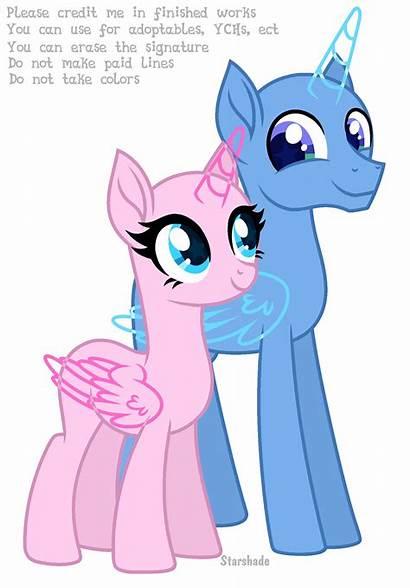 Mlp Ponies Bases Deviantart