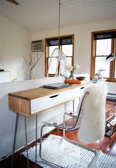 Ikea Hacker by Slim Mid Century Laptop Desk Ikea Hackers Ikea Hackers