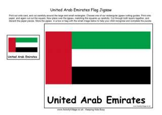 united arab emirates flag printables