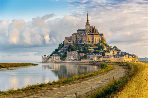 let s travel the world le mont michel in normandy