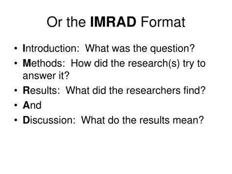 read  scientific paper powerpoint  id
