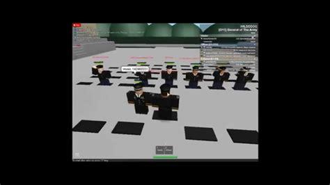 roblox  army promotion ceremony  brigadier