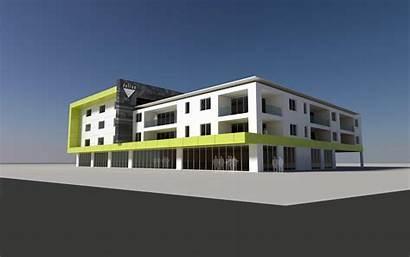 Mixed Development Beaufort Commercial Building Architecture Buildings