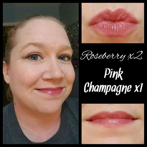 roseberry  pink champagne lipsense wwwsenegencecom