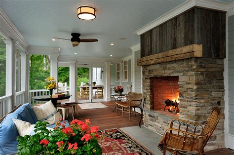 screened porch with fireplace on the drawing board 7 screened porches revisited