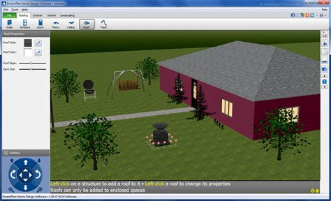 house decorating software dreamplan free home design software 3 01 free download freewarefiles com graphics category