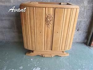 Relooker Meuble Salle De Bain : meuble ancien relooke digpres ~ Melissatoandfro.com Idées de Décoration
