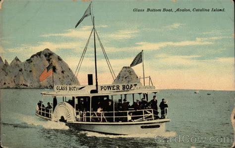Catalina Island Glass Bottom Boat by Glass Bottom Boat Avalon Santa Catalina Island Ca