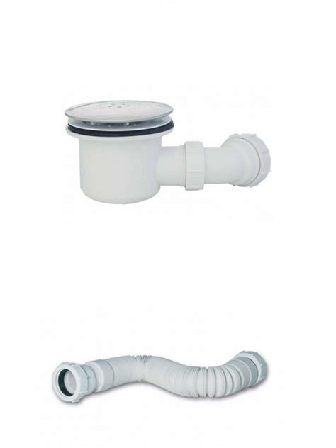 toilet flexi waste pipe mx 90mm hi flow shower waste flexi waste pipe