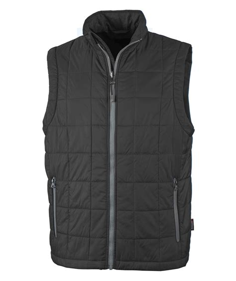 black quilted vest charles river apparel style 9535 radius quilted vest