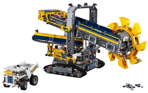 Lego Technic Schaufelradbagger (42055) Offizielle