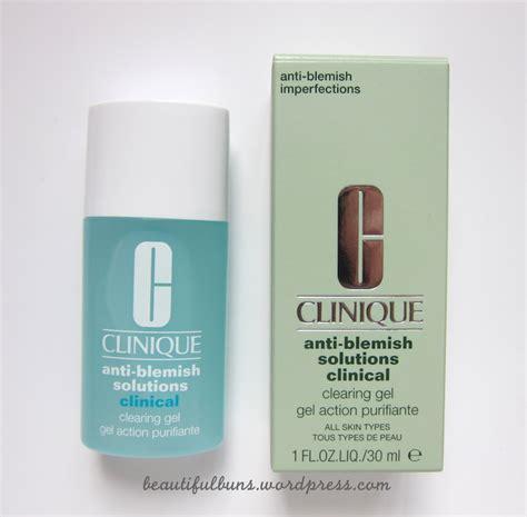 Clinique Anti Blemish Solution Gel review clinique anti blemish solutions clearing gel
