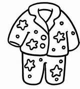 Pages Pijama Pajama Coloring Pajamas Drawing Sketch Preschool Sheets Template Printable Colouring Party Dia Pyjamas Pyjama Infantil Christmas Pjs Print sketch template