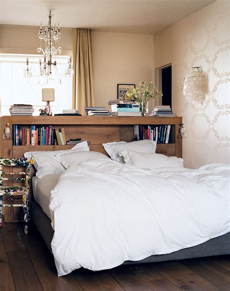 Small Headboard by 17 Bookshelves That As Headboards