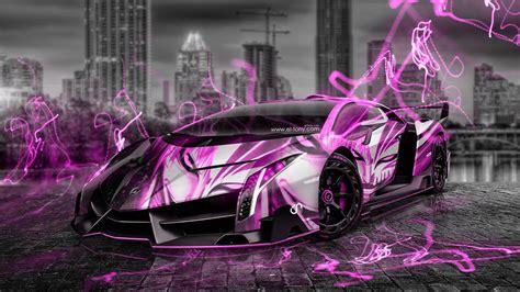 lamborghini veneno anime bleach aerography city car