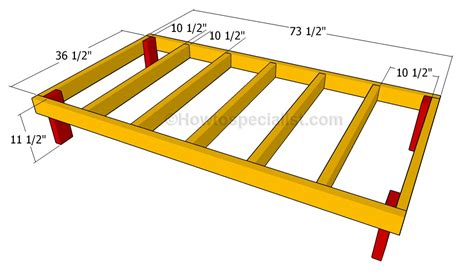 how to frame a floor how to build a double dog house howtospecialist how to build step by step diy plans