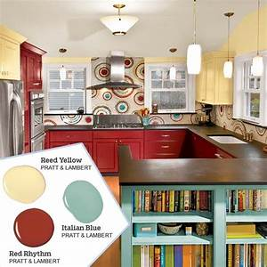 best 20 yellow kitchen paint ideas on pinterest With best brand of paint for kitchen cabinets with lsu wall art