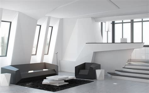 futuristic interior design - Futuristic Home Interior
