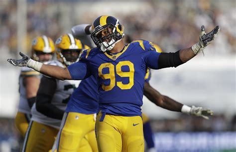 rams aaron donald fined    nfl