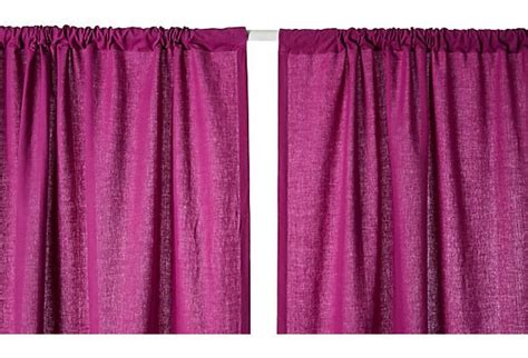 Solid Curtain Panel, Magenta On Onekingslane.com Tamiya Spray Paint Drying Time Hobby Gun Coupons Rust Proof For Metal Art How To Get Off Skin Red Walmart Glitter Home Depot
