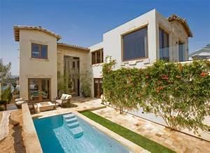 Creer un jardin de maison moderne avec piscine de style for Maison design avec piscine 12 amenagement exterieur pour la cour la terrasse ou le jardin