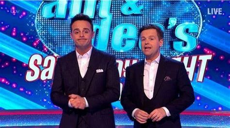 Ant and Dec horrified as audience members laugh during ...