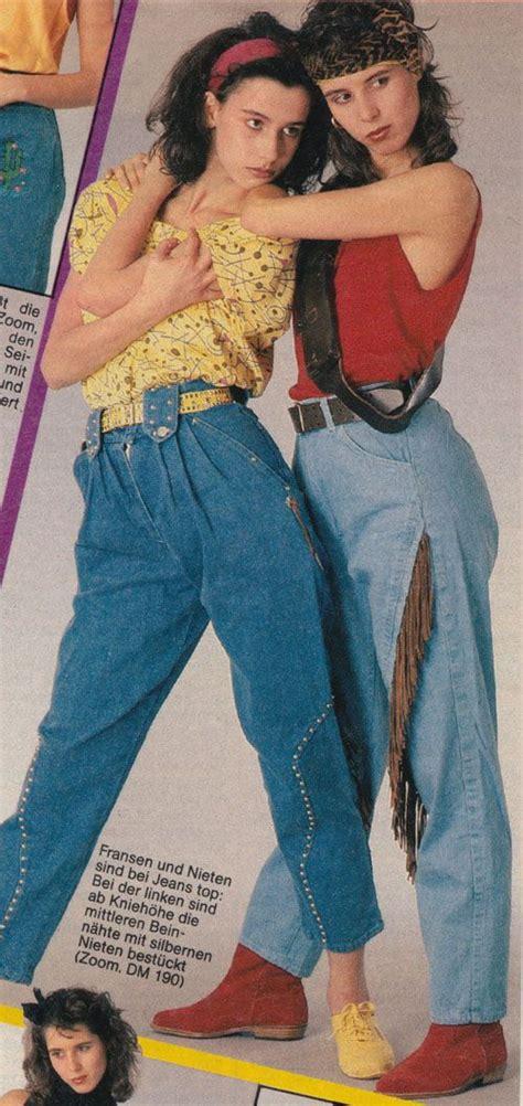 90 er jahre mode 1986 80er bravo mode 80 s fashion