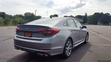 Hyundai Sonata Limited by Road Test Review 2016 Hyundai Sonata 2 0t Limited By