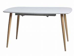 Table En Pin Massif : table 140 cm avec allonge en pin massif elena vente de ~ Teatrodelosmanantiales.com Idées de Décoration
