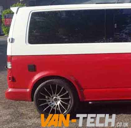 vw t5 t5 1 privacy glass fixed 2 x lwb fixed rear quarter tinted windows tech