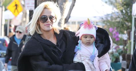 Khloe Kardashian and Daughter True Spotted at the Farmer's ...