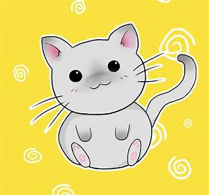 Cute Chibi Kitty by Amy-Heartbreak on DeviantArt