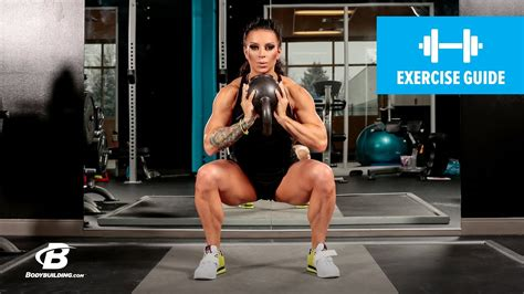 squat kettlebell sumo exercise guide