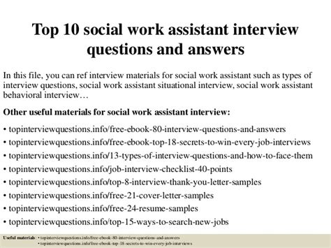medical assistant jobs no experience required top 10 social work assistant interview questions and answers