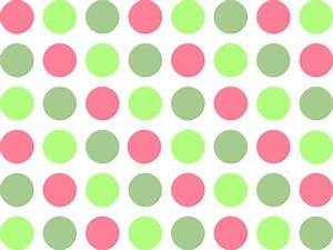 Pink and green polka dot background | Pink polka dot ...